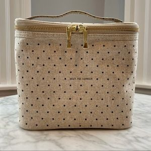 """NWOT kate spade new york """"out to lunch"""" lunch bag"""